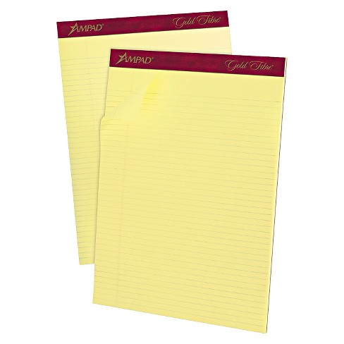 "12pk 50 Sheet 8.5"" x 11.75"" Legal Pads - Ampad - image 1 of 1"
