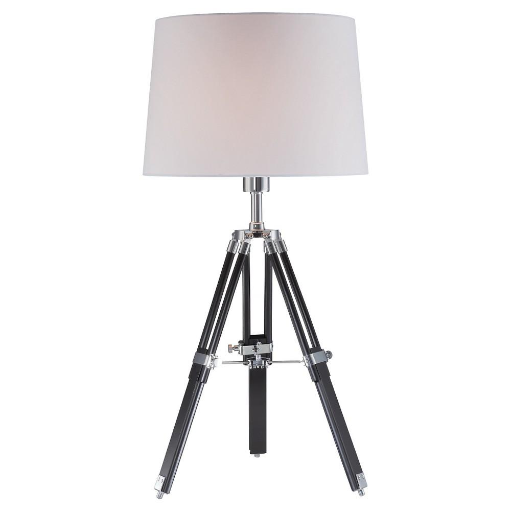 Lite Source Jiordano Table Lamp, Dark Off-White