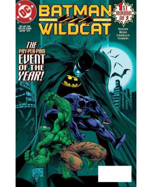 Batman / Wildcat (Paperback) (Chuck Dixon & Beau Smith) - image 1 of 1