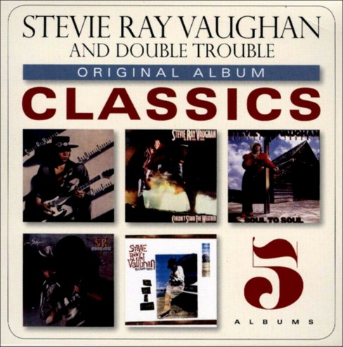 Stevie ray vaughan - Original album classics:Stevie ray va (CD) - image 1 of 1