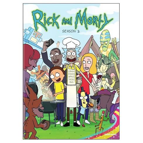 Rick and Morty: Season 2 (DVD) - image 1 of 3