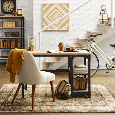 Industrial Home Office Furniture & Décor Ideas Collection