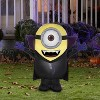Gemmy Airblown Gone Batty Minion Universal, 3 ft Tall, Multicolored - image 2 of 2