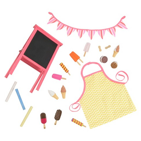 """Our Generation Sweet Stop Ice Cream Accessory Set for 18"""" Dolls - image 1 of 4"""