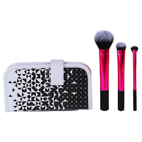 Real Techniques Highlight and Glow Brush Set 4 pc - image 1 of 4