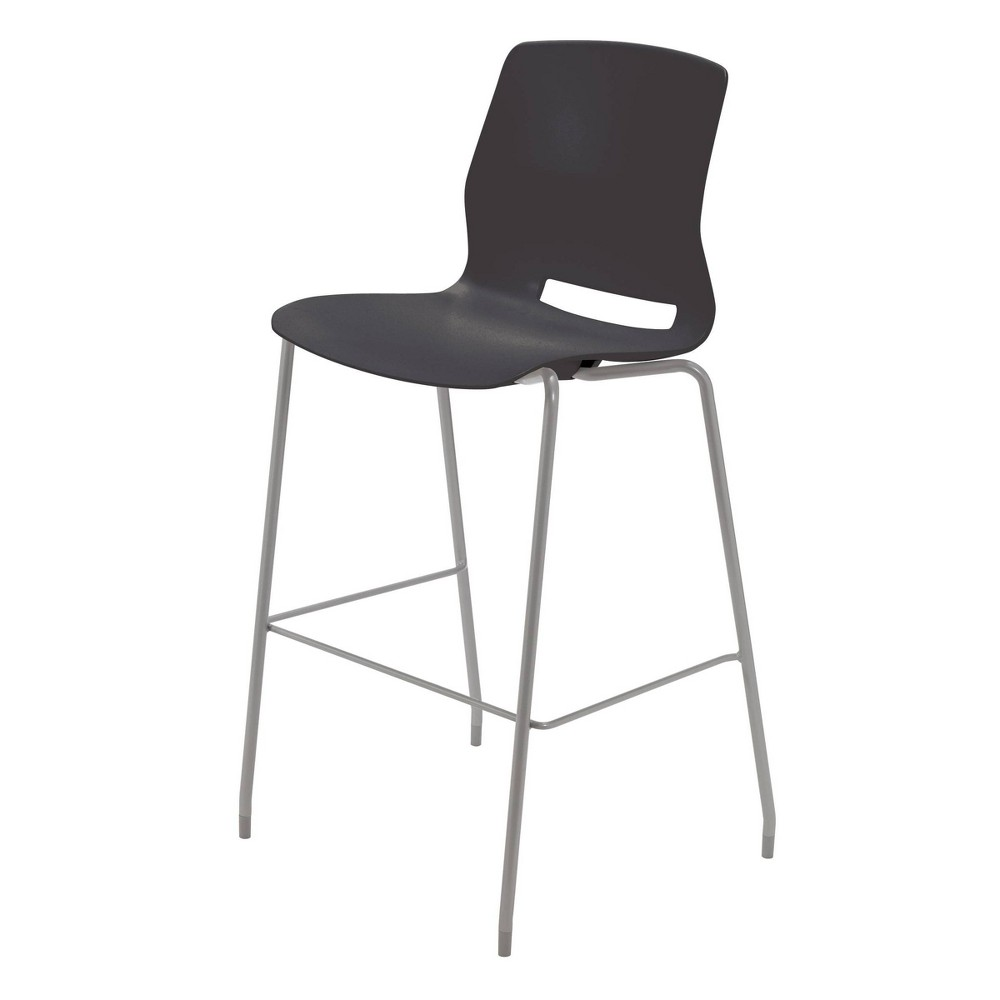 "Image of ""30"""" Lola Stacking Office Stool Black - Olio Designs"""