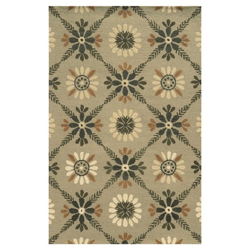 Rizzy Home Rockport Collection Hand-Tufted Blended Wool Area Rug - image 1 of 1