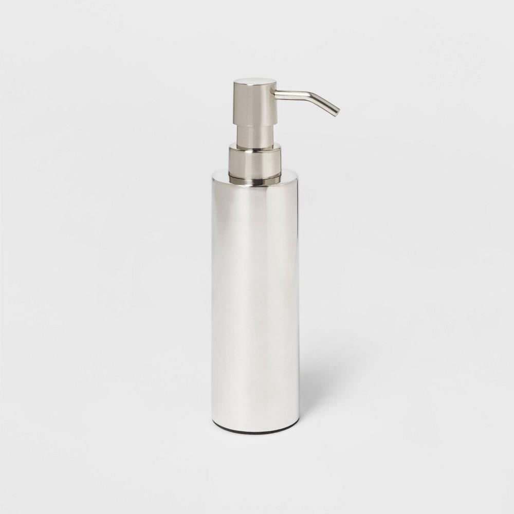 Brushed Stainless Steel Soap Dispenser Threshold 8482