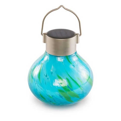 Allsop 5 X 4 Solar Glass Outdoor, Allsop Home And Garden Solar Tea Lantern