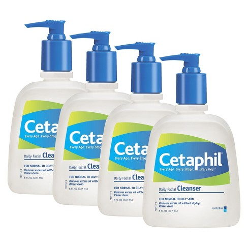 Cetaphil Daily Facial Cleanser - 4 Pack - image 1 of 1