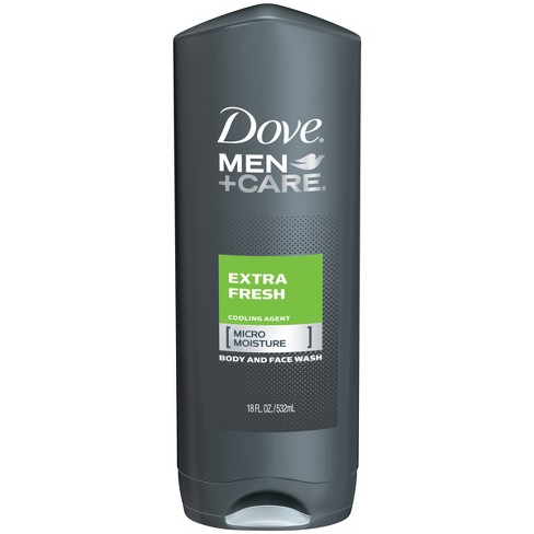Dove Men Care Extra Fresh Micro Moisture Cooling Body Wash 18 Fl Oz Target