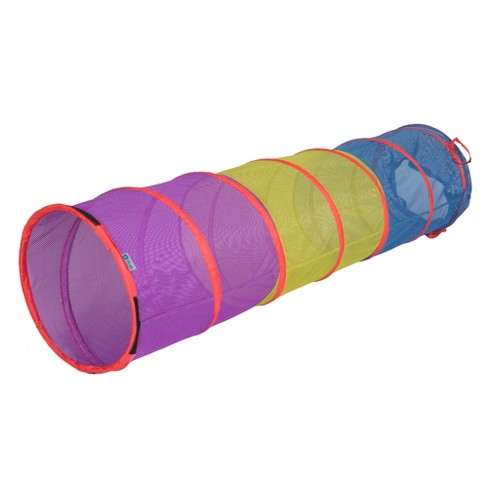 Pacific Play Tents Kids Institutional Mesh See Thru Play Tunnel 6 Ft - image 1 of 4