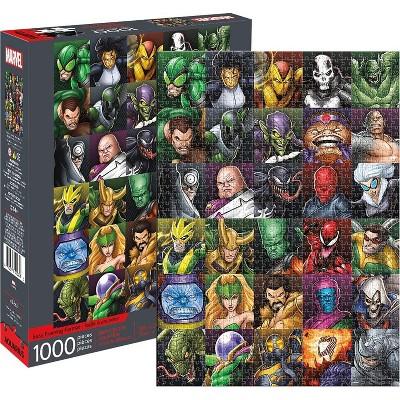 NMR Distribution Marvel Villains Collage 1000 Piece Jigsaw Puzzle