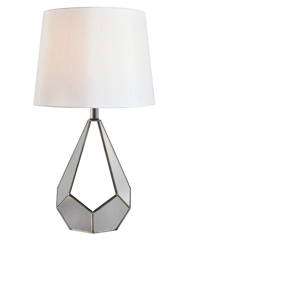 Table Lamp (Includes Energy Efficient Light Bulb) - Kenroy Home, Silver