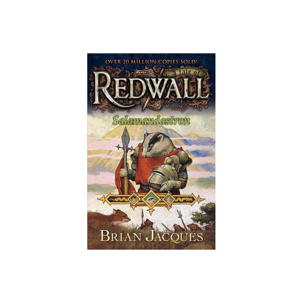 Salamandastron Redwall By Brian Jacques Paperback