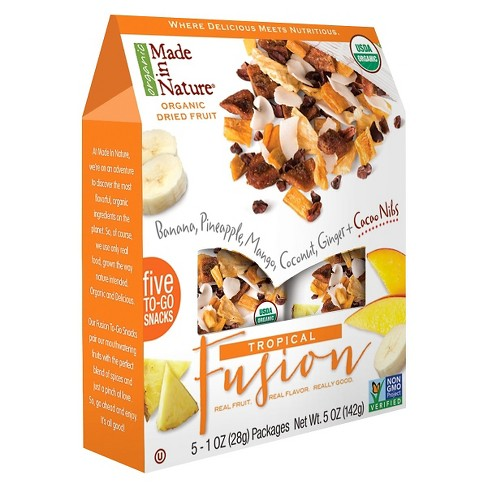 Made In Nature Tropical Fusion Organic Dried Fruit - 5ct/5oz - image 1 of 1