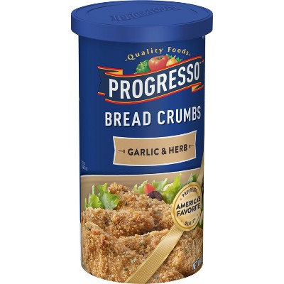 Progresso Garlic & Herb Bread Crumbs - 15oz