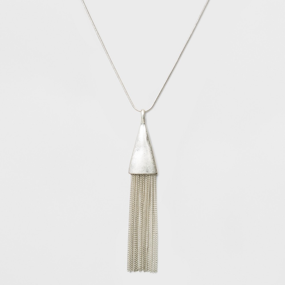 Tassel Pendant Necklace Universal Thread 8482