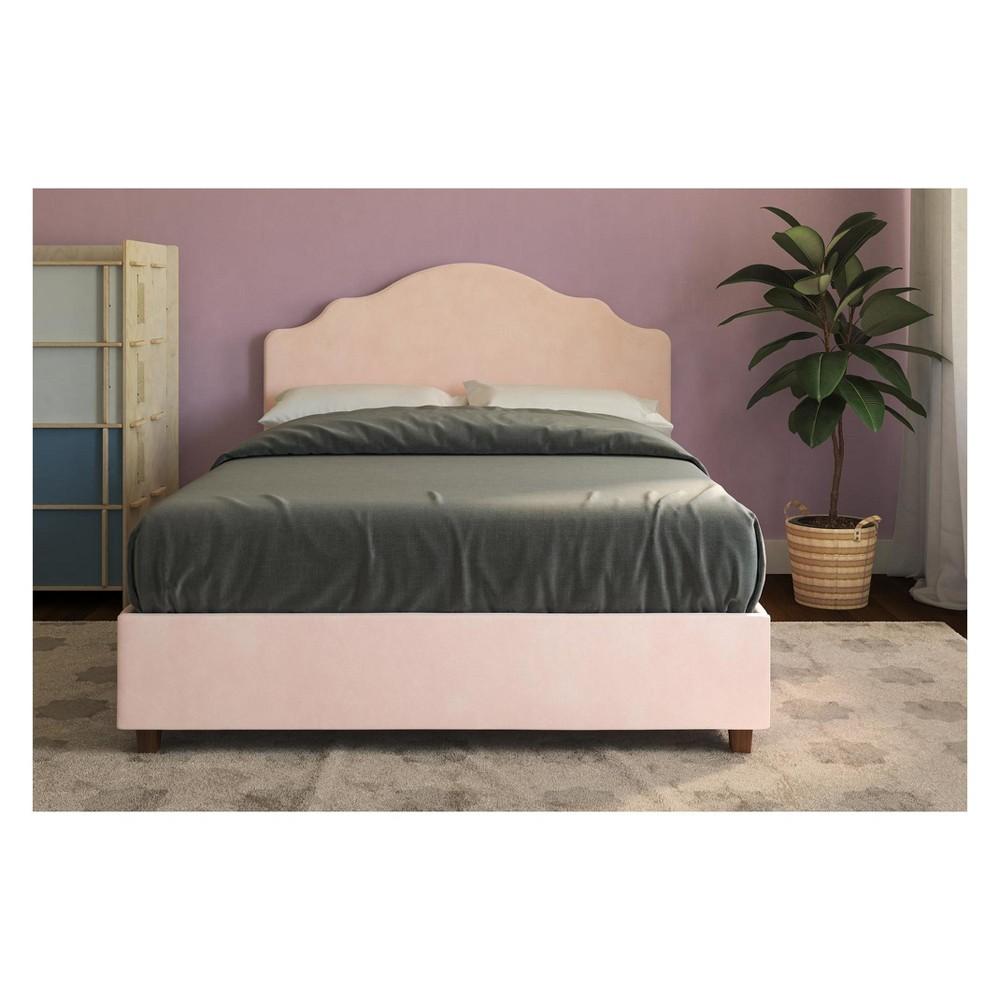 Full Salina Upholstered Bed Pink - Room & Joy