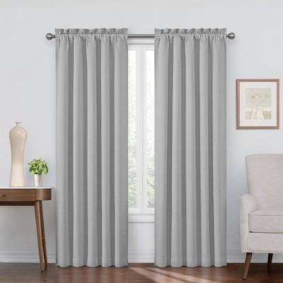 Corinne Blackout Curtain Panel - Eclipse
