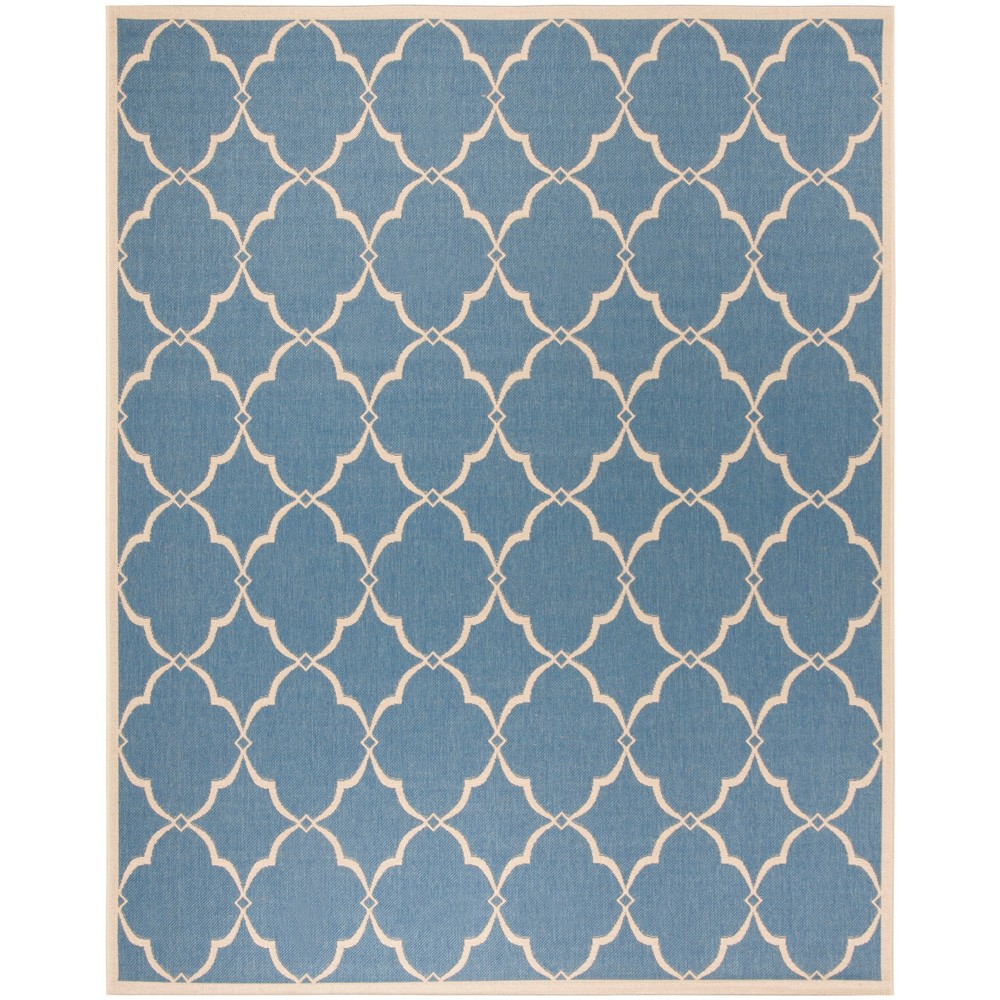 8X10 Geometric Loomed Area Rug Blue - Safavieh Compare