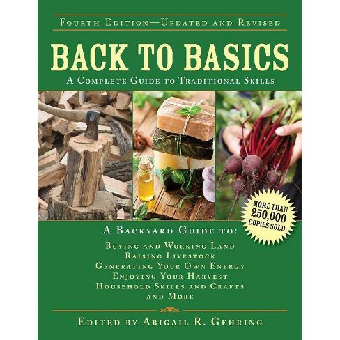 Back to Basics - (Back to Basics Guides) 4th Edition by  Abigail Gehring (Hardcover) - image 1 of 1