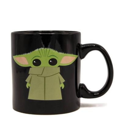 Star Wars 20oz Ceramic The Child Mug - Silver Buffalo
