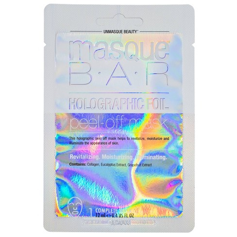 Masque Bar Holographic Peel Off Mask - 0.71 fl oz - image 1 of 3