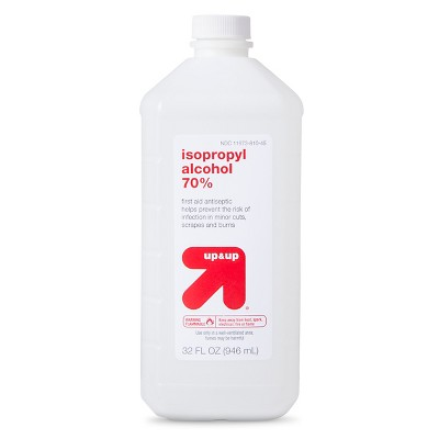 Isopropyl 70% Alcohol Antiseptic - 32oz - Up&Up™