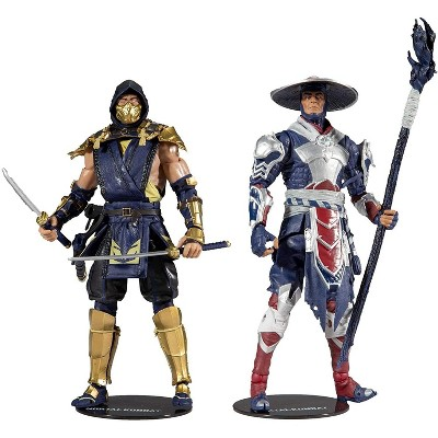 Mcfarlane Toys Mortal Kombat 7 Inch Action Figure 2-Pack | Scorpion & Raiden