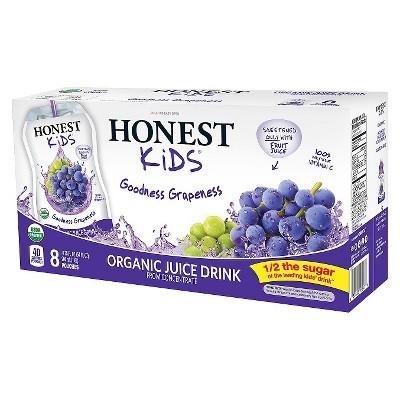 Juice Boxes: Honest Kids
