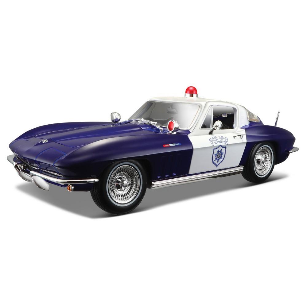 Maisto 1965 Chevy Corvette Police 1:18