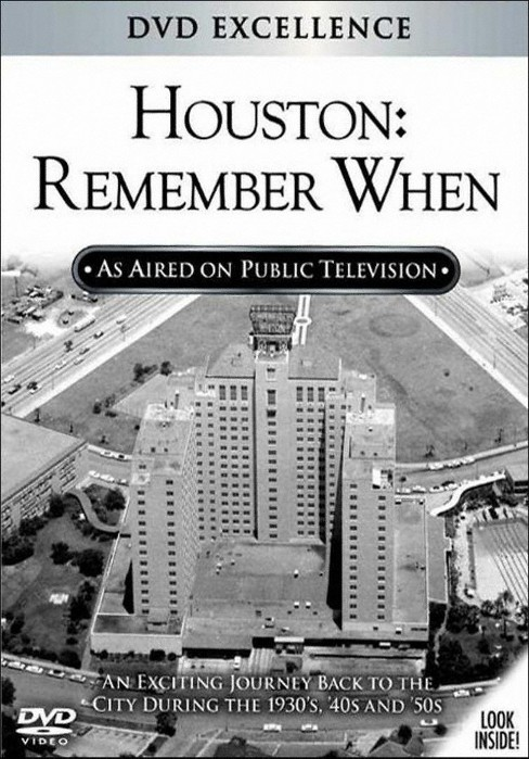 Houston remember when (DVD) - image 1 of 1