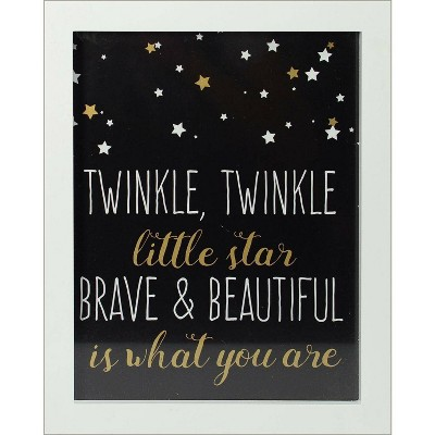 RoomMates Framed Wall Poster Prints Brave and Beautiful