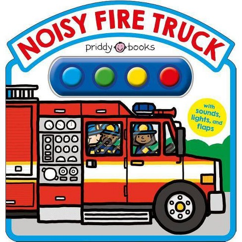 Noisy Fire Truck Sound Book - (Simple Sounds) by  Roger Priddy (Board_book) - image 1 of 1