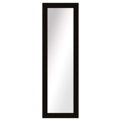 Floor Mirror PTM Images Espresso Brown