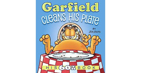 Garfield Cleans His Plate (Paperback) (Jim Davis) - image 1 of 1