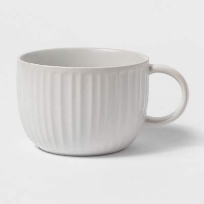 24oz Stoneware Soup Mug White - Threshold™