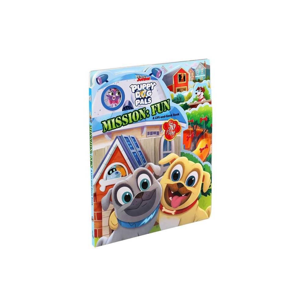 Disney Puppy Dog Pals Mission Fun Lift The Flap Board Book