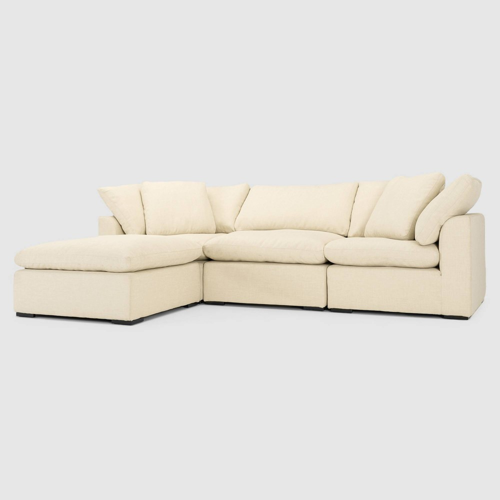 Image of 4pc Aria Seating Set Beige - RST Brands