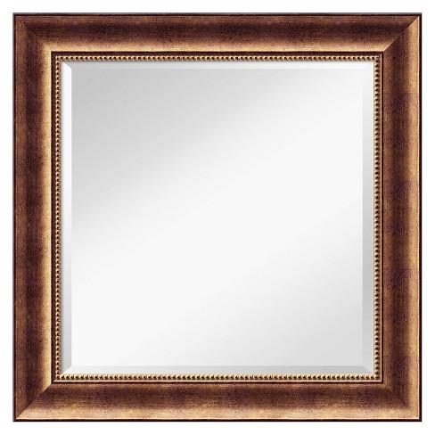 Square Manhattan Decorative Wall Mirror - Amanti Art - image 1 of 4