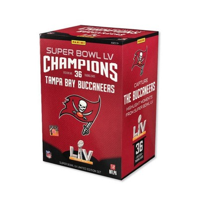 2021 NFL Super Bowl Football Trading Card Set