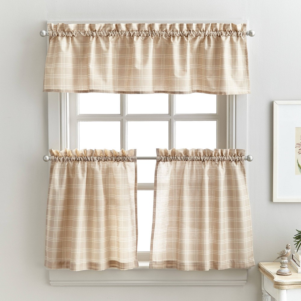 """Image of """"36"""""""" Lodge Plaid Tr Set Linen - CHF Industries"""""""