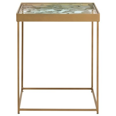 End Table Antique Brass - Safavieh
