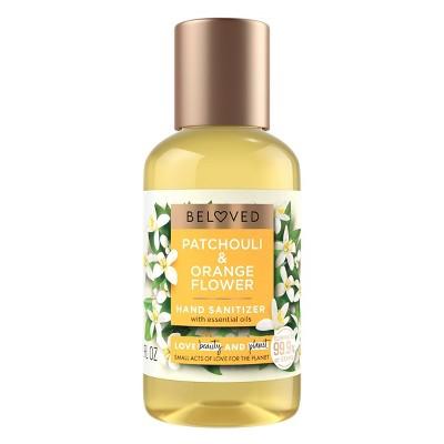 Beloved Patchouli & Orange Flower Hand Sanitizer - 2 fl oz