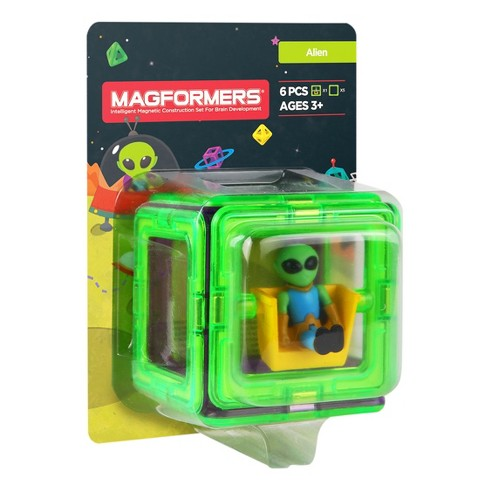 Magformers Figure Plus Alien Set - 6pc - image 1 of 2