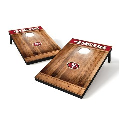NFL Wild Sports 2x3 Rustic Wooden Plaque Tailgate Toss