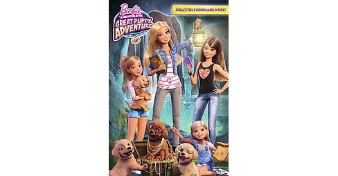 Barbie & Her Sisters in the Great Puppy Adventure : The Chapter Book (Paperback) - image 1 of 1