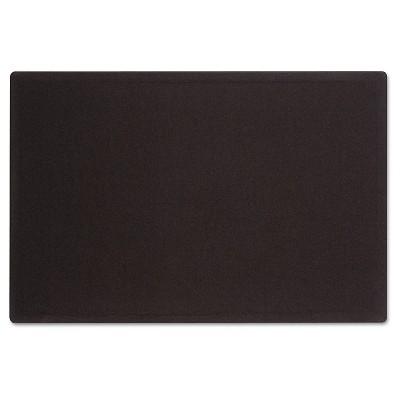 Superieur Quartet® Oval Office Fabric Bulletin Board, 48 X 36, Black