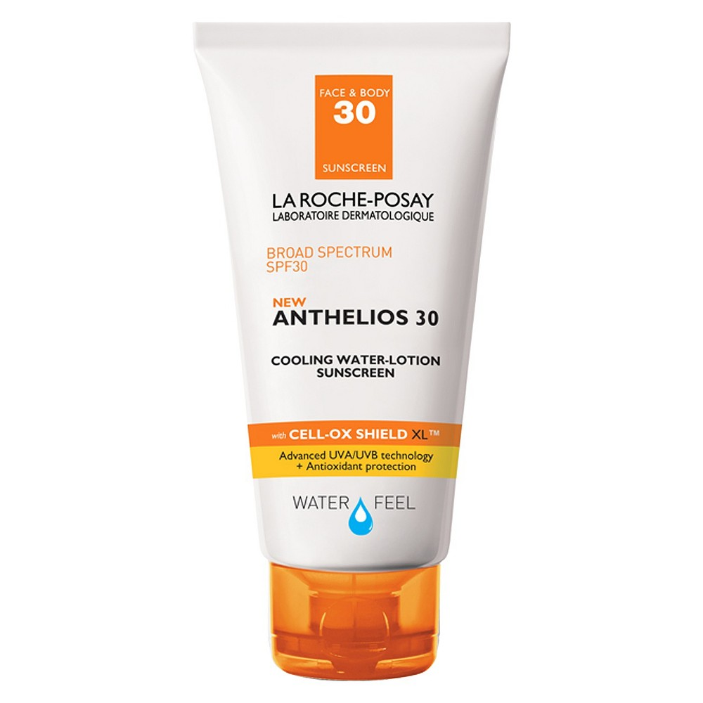 Image of La Roche-Posay Anthelios Cooling Water-Lotion Face and Body Sunscreen SPF 30 - 5.0oz